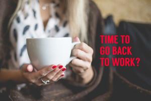 Ritorno al lavoro