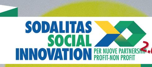 """Anche quest'anno Progettazione partecipa al Concorso """"Sodalitas Social Innovation"""""""