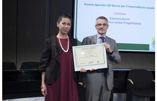Eleonora Beschi premiata a Sodalitas: premio speciale per l'imprenditoria sociale