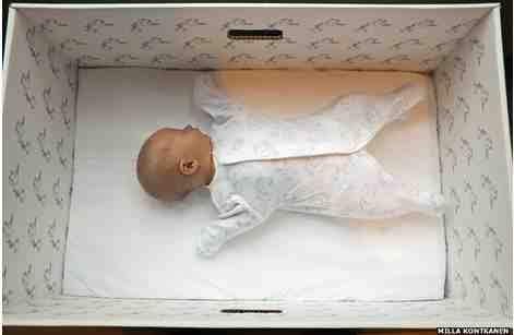 Lo strano caso del bambino che dormiva nella scatola