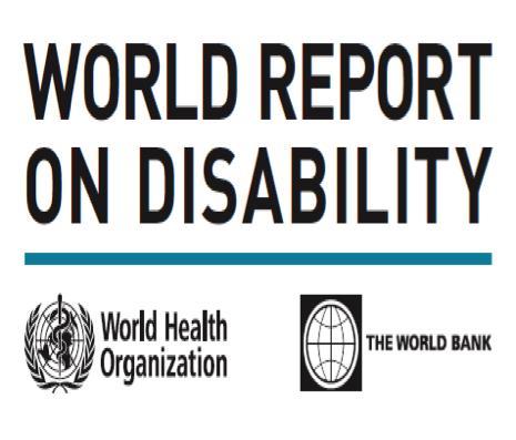 Disabilità: Il I° Rapporto Mondiale