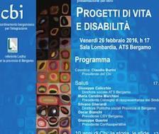 Incontro CBI: Progetti e vita e disabilità