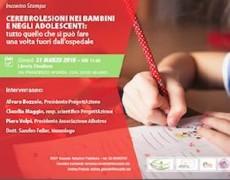 Conferenza stampa per la presentazione del progetto – Bambini e adolescenti dopo una lesione cerebrale da trauma: famiglia, extrascuola e servizi sociali per un nuovo progetto di vita.