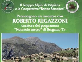 """Incontro con Roberto Regazzoni di """"Non solo meteo, Bergamo TV"""""""
