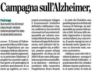 Campagna sull'Alzheimer