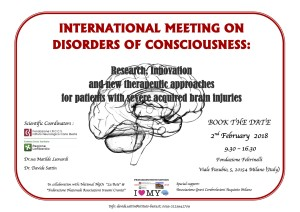 INTERNATIONAL MEETING ON DISORDERS OF CONSCIOUSNESS