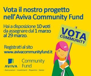 Sostieni ProgettAzione nell'AVIVA community found