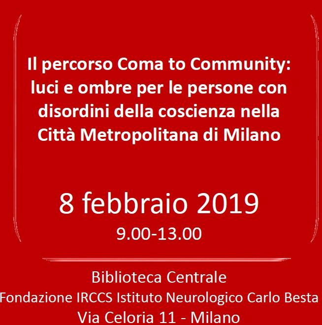 Il percorso Coma to Community: luci e ombre per le persone con disordini della coscienza nella Città Metropolitana di Milano