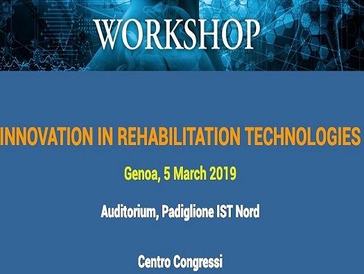 """La Ricerca scientifica di Progettazione al Convegno internazionale """"Innovation in rehabilitation technologies"""" di Genova."""