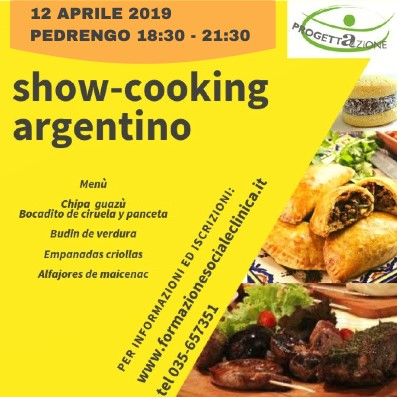 Intercultura… da gustare: cucina Argentina e dialogo interculturale – Pedrengo 12 aprile 2019