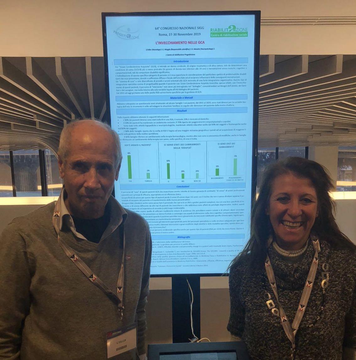 ProgettAzione al Congresso Nazionale della Società Italiana di Gerontologia e Geriatria, con la ricerca sul rapporto tra lesioni cerebrali e invecchiamento