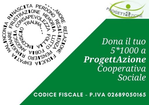 5×1000 alla Cooperativa Sociale Progettazione.