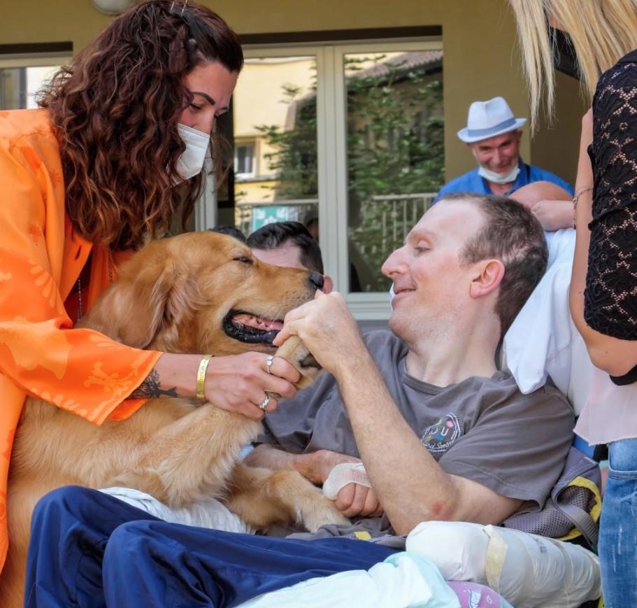 Pet therapy e cerebrolesioni acquisite: una sperimentazione che entusiasma.